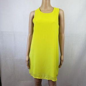🟣2/$30🟣 Norah Green Sleeveless Dress Size L